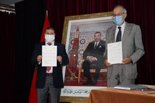 Signature d'un partenariat entre l'ISIC et la FSJES – Agdal